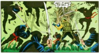 Kobra (DC Comics) - Kobra Blackadders vs Checkmate Knight