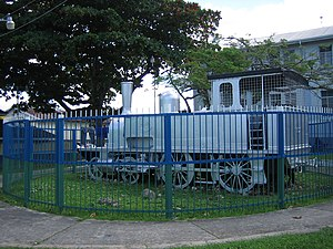 Natal Railway 4-4-0T Perseverance - Preserved Trinidad Government Railway engine