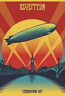<i>Celebration Day</i> (film) 2012 Led Zeppelin concert film directed by Dick Carruthers