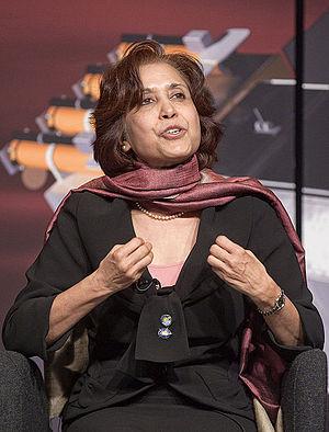 Madhulika Guhathakurta - Image: Lika at The Newseum