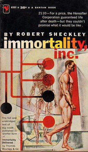 Immortality, Inc. - First edition (author's text)