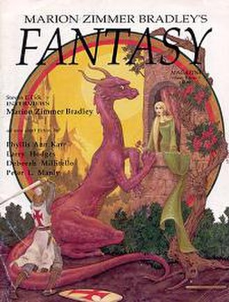 Marion Zimmer Bradley's Fantasy Magazine - Cover of Vol. 2, issue 1 .