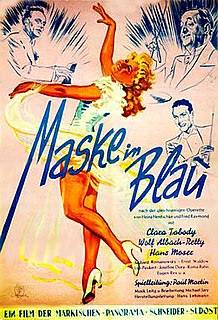 <i>Mask in Blue</i> (1943 film) 1943 film