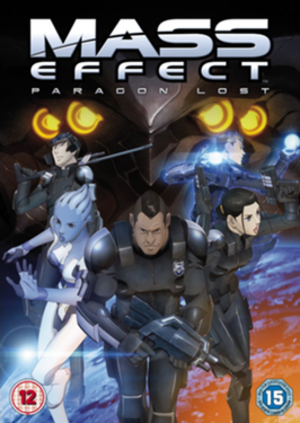 Mass Effect: Paragon Lost - DVD/Blu-ray Disc cover