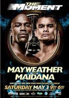 Floyd Mayweather Vs Marcos Maidana Poster