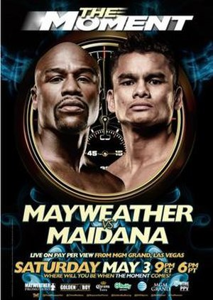 Floyd Mayweather Jr. vs. Marcos Maidana - Image: Mayweather Jr Vs Maidana