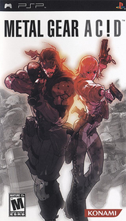 <i>Metal Gear Acid</i> 2004 video game