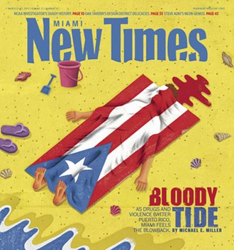 Miami New Times - Image: Miami New Times cover