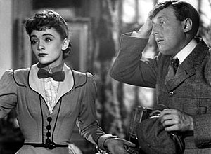 Miquette (1950 film) - Danièle Delorme and Bourvil