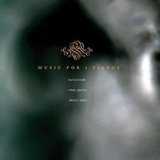 Music for 3 Pianos - Image: Music for 3 Pianos album