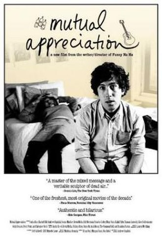 Mutual Appreciation - Promotional poster