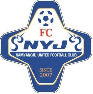 Namyangju United FC - Image: Namyangju United