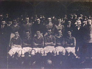 1922–23 Nelson F.C. season - The Nelson team that won the Third Division North: Birds, Black, Broadhead, Braidwood, Crawshaw, Eddleston, Hoad, Hutchinson, McCulloch, Rigg, Wolstenholme