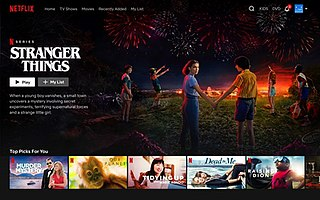 Netflix American technology and media services provider and production company