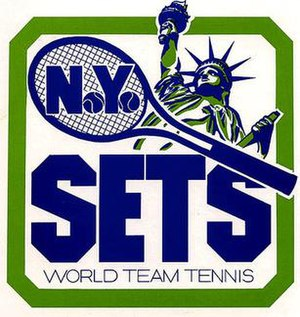 New York Apples - New York Sets logo used from 1974 to 1976.