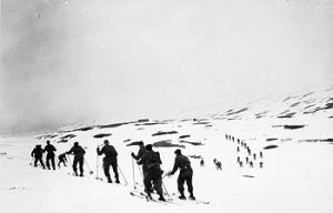 No. 3 Commando - No. 3 Commando ski training in Scotland
