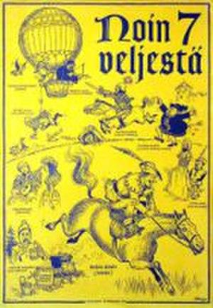 Noin seitsemän veljestä - Poster