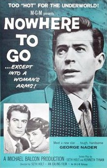Nowhere to Go (1958 film) poster.jpg
