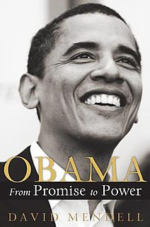 <i>Obama: From Promise to Power</i> book by David Mendell