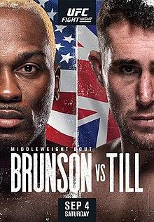 Official poster for UFC Fight Night Brunson vs. Till.jpg