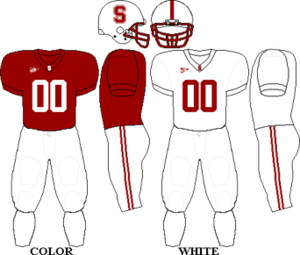 2008 Stanford Cardinal football team - Image: Pac 10 Uniform SU 2008 2009