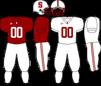 2009 Stanford Cardinal football team - Image: Pac 10 Uniform SU 2008 2009
