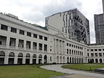 Ph-mm-manila-malate-taft ave.-de la salle university (dlsu)-saint la salle hall; henry sy bldg. (2014).JPG
