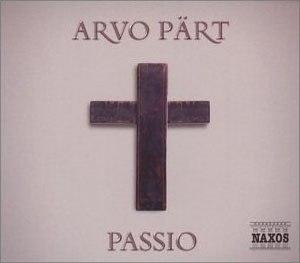 Passio (Pärt) - Album cover