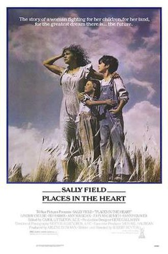 Places in the Heart - Theatrical film poster