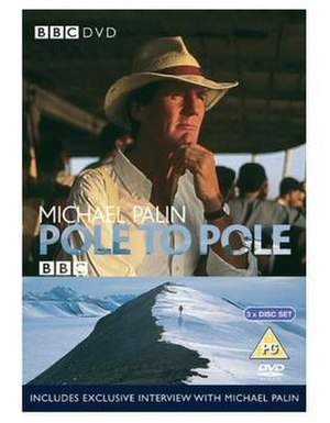 Pole to Pole - DVD cover