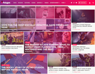 <i>Polygon</i> (website) Video game website