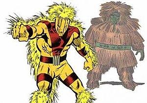 Porcupine (comics) - Image: Porcupine Marvel