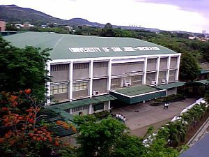 University of San Jose–Recoletos - The Recoletos Coliseum in Basak Campus