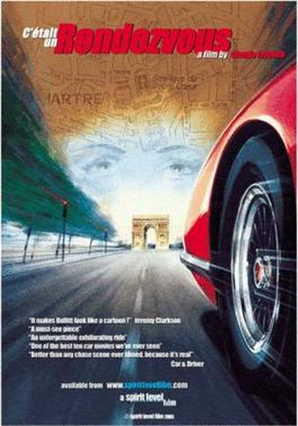 C'était un rendez-vous - Poster for the DVD release