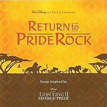 Return To Pride Rock Wikipedia
