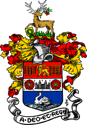 Municipal Borough of Richmond (Surrey) - Image: Richmond arms