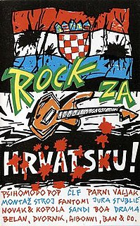 <i>The Best of Rock za Hrvatsku</i> Compilation album