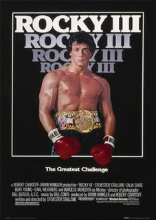 1982 US boxing film directed by Sylvester Stallone