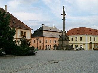 Rokycany - Image: Rokycany main square