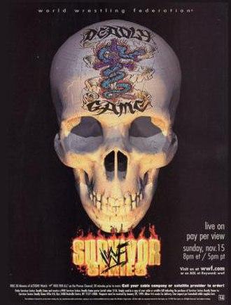 Survivor Series (1998) - Promotional poster