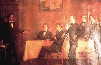 The Founding of Sigma Alpha Epsilon.