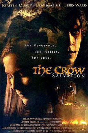 The Crow: Salvation - Theatrical release poster