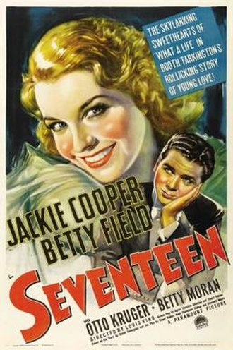 Seventeen (1940 film) - Theatrical release poster