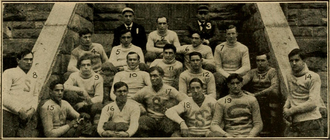 1906 Sewanee Tigers football team - Image: Sewanee 1906