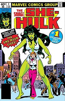 She-Hulk Fictional character appearing in American comic books published by Marvel Comics