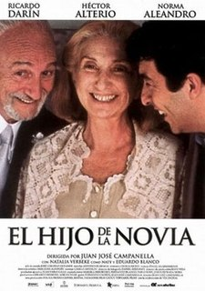 <i>Son of the Bride</i> 2001 film directed by Juan José Campanella
