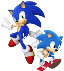 sonic the hedgehog character wikipedia
