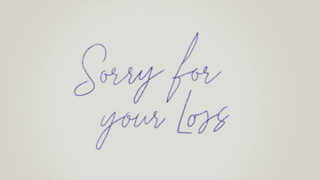 <i>Sorry for Your Loss</i> American drama web television series