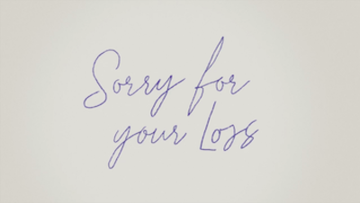 Picture of a TV show: Sorry For Your Loss