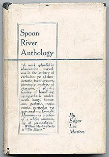 <i>Spoon River Anthology</i> book by Edgar Lee Masters
